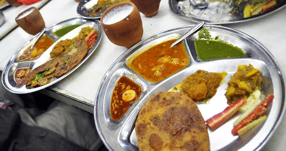 A sample thali